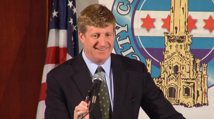 Patrick Kennedy's Speech at the City Club of Chicago
