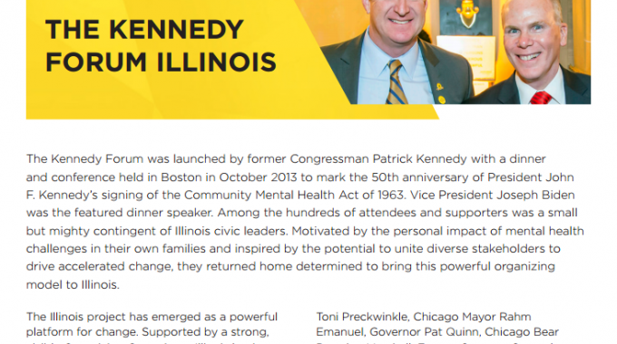 Learn More about Kennedy Forum Illinois' Work