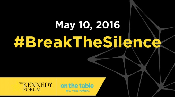 #OnTheTable2016 #BreakTheSilence