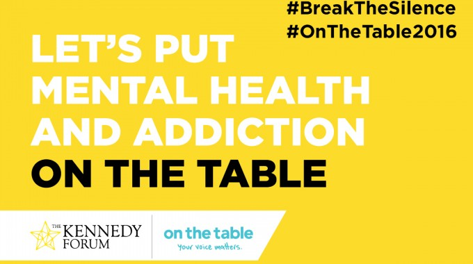 500 Conversations about Mental Health #BreakTheSilence #OnTheTable2016