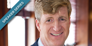 Patrick Kennedy to Speak at University of Chicago's Institute of Politics