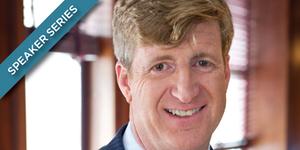 Patrick Kennedy to Speak at University of Chicago's Institute of Politics